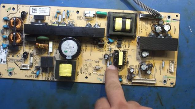 Жк телевизоры ремонт блока питания своими руками